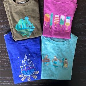 Lot of 4 LL Bean t-shirts (unisex)